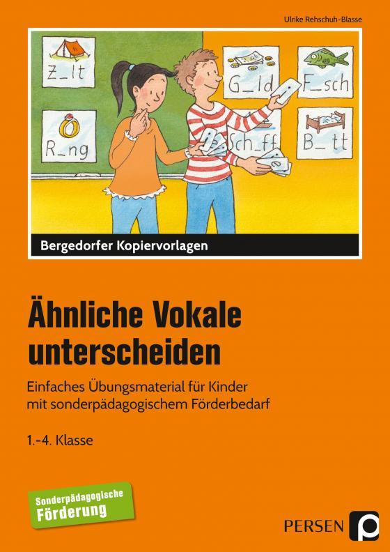 Cover-Bild Ähnliche Vokale unterscheiden