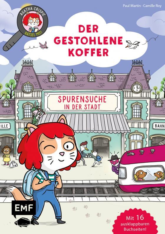 Cover-Bild Agatha Crispie und der gestohlene Koffer – Spurensuche in der Stadt