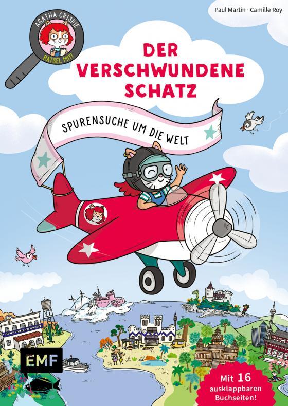 Cover-Bild Agatha Crispie und der verschwundene Schatz – Spurensuche um die Welt: Band 2