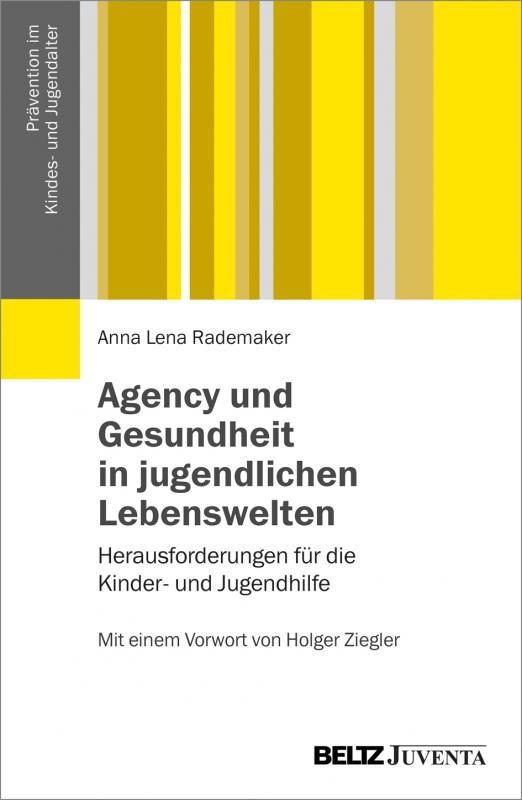 Cover-Bild Agency und Gesundheit in jugendlichen Lebenswelten