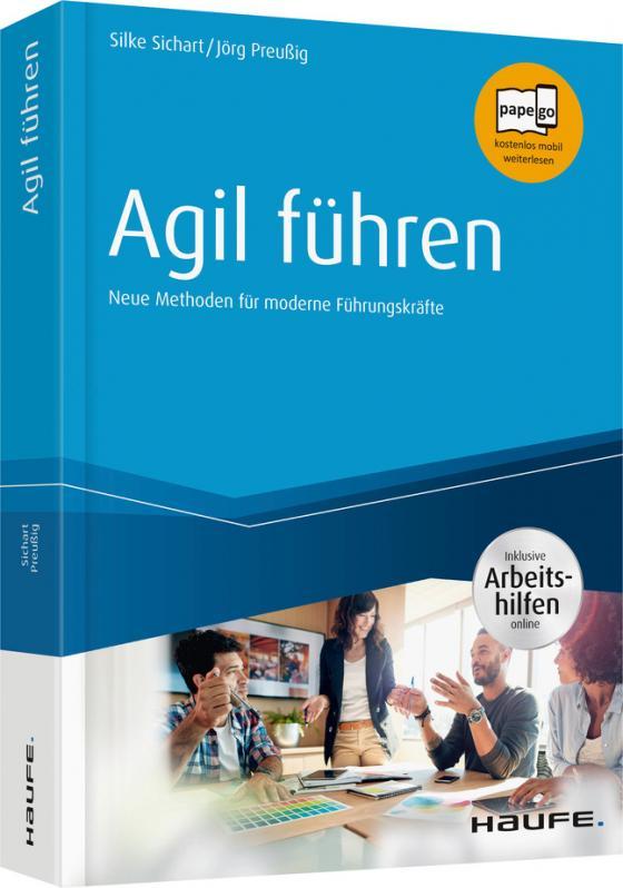 Cover-Bild Agil führen - inkl. Arbeitshilfen online