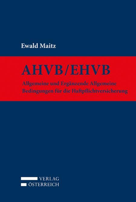 Cover-Bild AHVB/EHVB