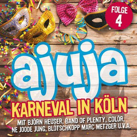 Cover-Bild Ajuja 4 - Karneval in Köln