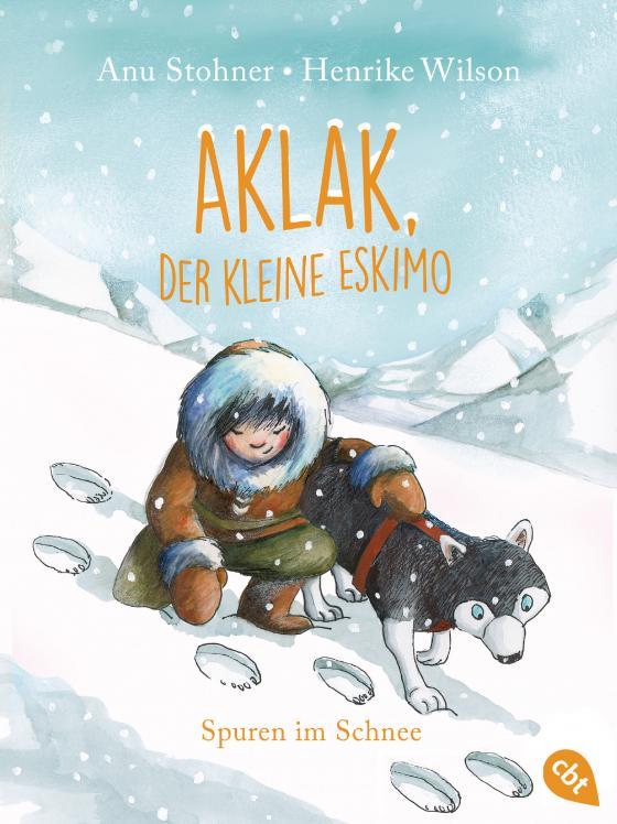 Cover-Bild Aklak, der kleine Eskimo - Spuren im Schnee