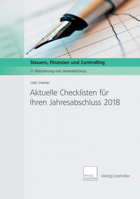 Cover-Bild Aktuelle Checklisten für Ihre Jahresabschlussarbeiten 2018