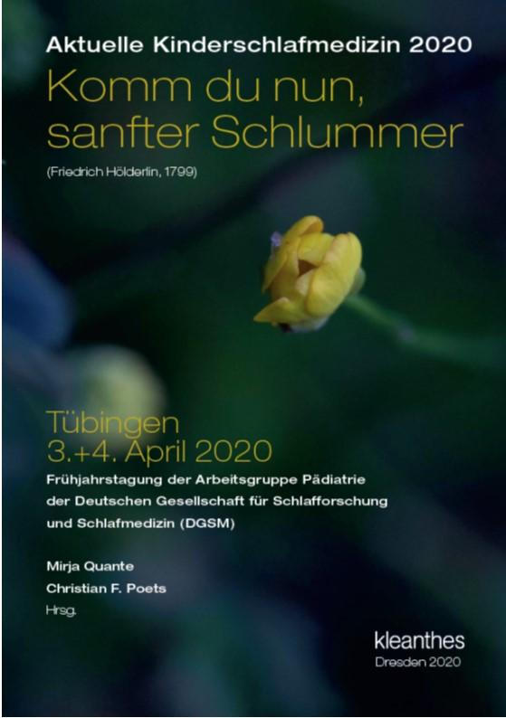 Cover-Bild Aktuelle Kinderschlafmedizin 2020