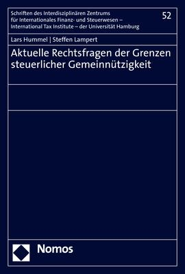 Cover-Bild Aktuelle Rechtsfragen der Grenzen steuerlicher Gemeinnützigkeit