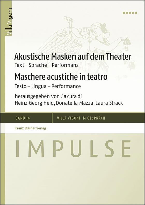 Cover-Bild Akustische Masken auf dem Theater / Maschere acustiche in teatro