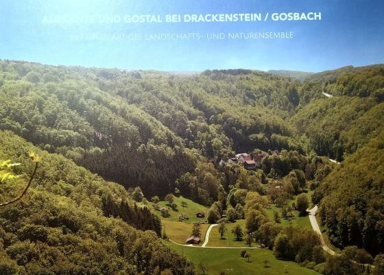 Cover-Bild Albkante und Gostal bei Drackenstein / Gosbach