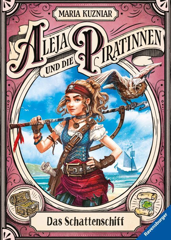 Cover-Bild Aleja und die Piratinnen, Band 1: Das Schattenschiff