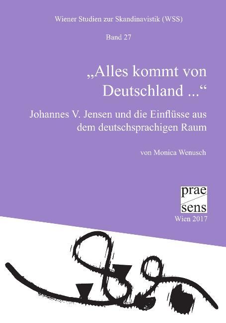 """Cover-Bild """"Alles kommt von Deutschland ..."""""""