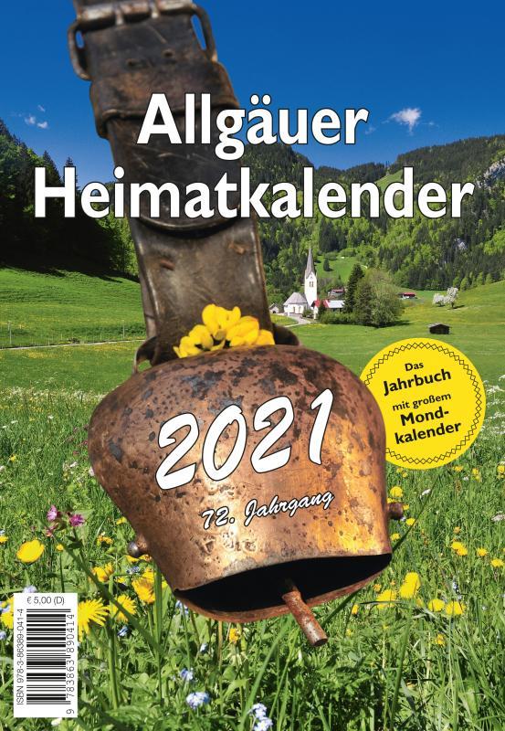 Cover-Bild Allgäuer Heimatkalender 2021