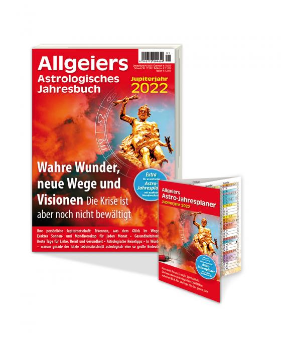 Cover-Bild Allgeiers Astrologisches Jahresbuch 2022