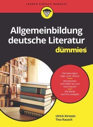Cover-Bild Allgemeinbildung deutsche Literatur für Dummies
