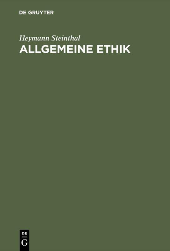 Cover-Bild Allgemeine Ethik