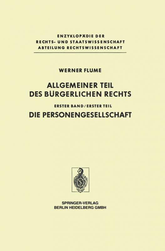 Cover-Bild Allgemeiner Teil des Bürgerlichen Rechts