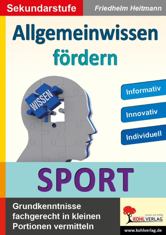 Cover-Bild Allgemeinwissen fördern SPORT