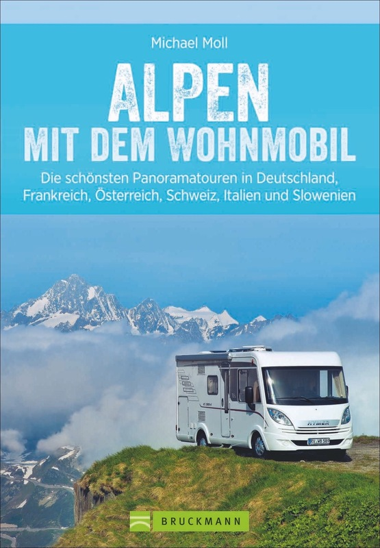 Cover-Bild Alpen mit dem Wohnmobil