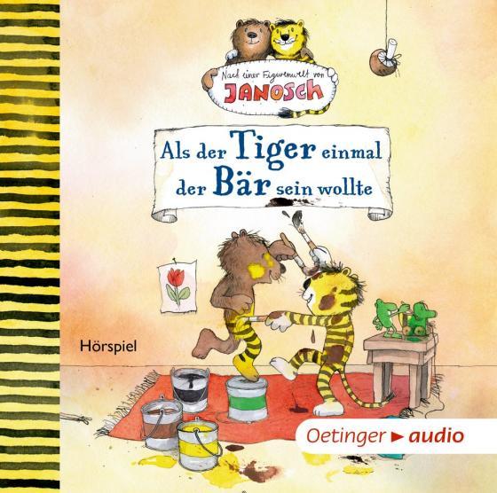 Cover-Bild Als der Tiger einmal der Bär sein wollte