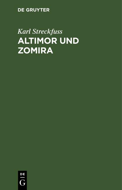 Cover-Bild Altimor und Zomira