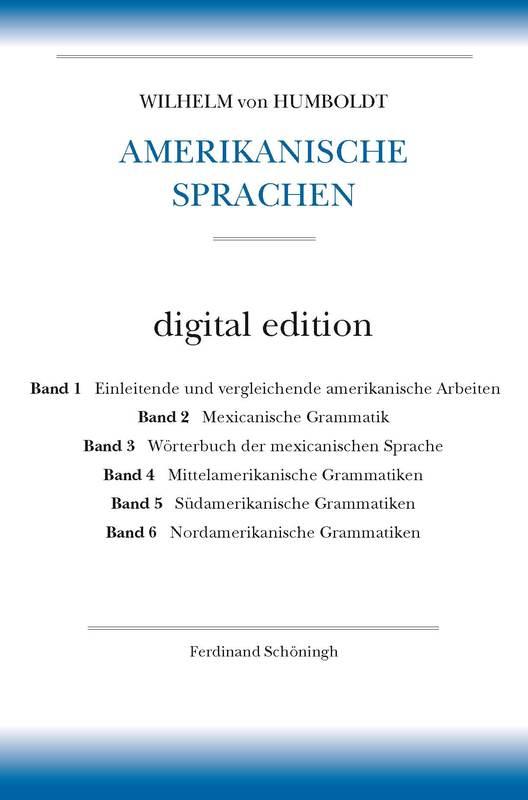 Cover-Bild Amerikanische Sprachen