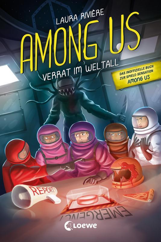 Cover-Bild Among Us - Verrat im Weltall