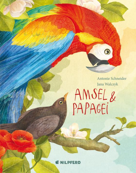 Cover-Bild Amsel und Papagei