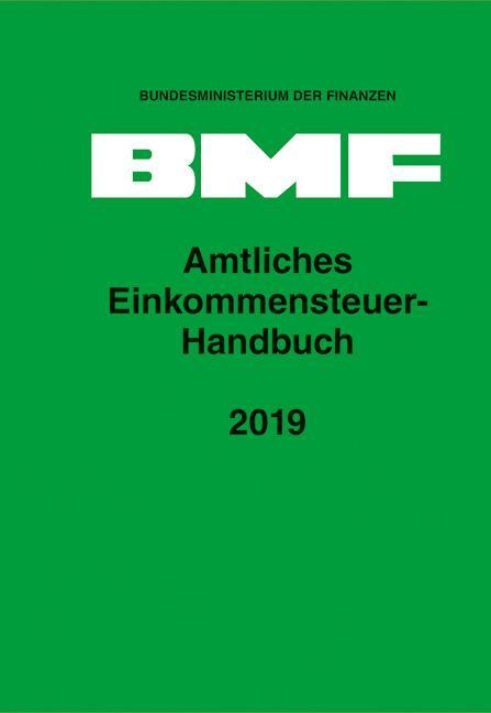 Cover-Bild Amtliches Einkommensteuer-Handbuch 2019