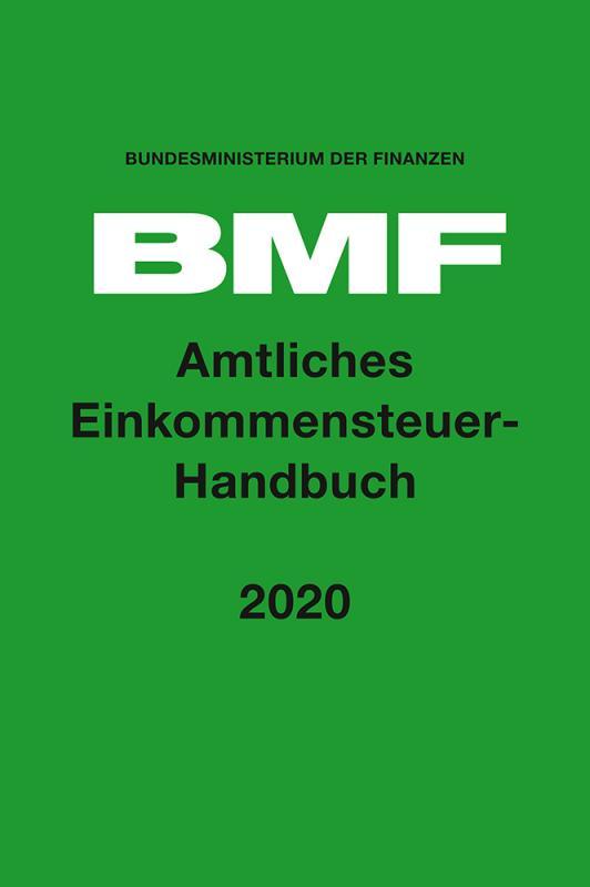 Cover-Bild Amtliches Einkommensteuer-Handbuch 2020