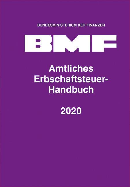 Cover-Bild Amtliches Erbschaftsteuer-Handbuch 2020