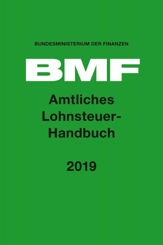 Cover-Bild Amtliches Lohnsteuer-Handbuch 2019