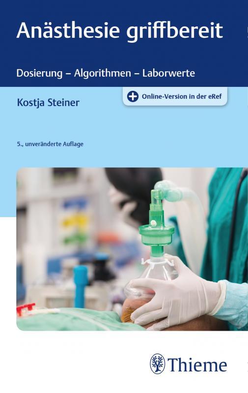 Cover-Bild Anästhesie griffbereit