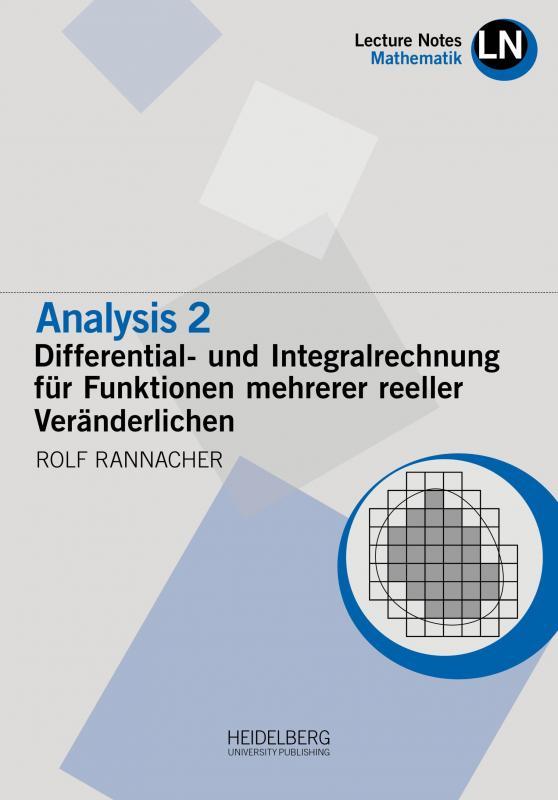 Cover-Bild Analysis 2 / Differential- und Integralrechnung für Funktionen mehrerer reeller Veränderlichen