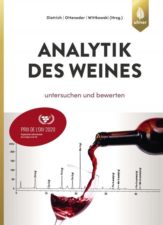 Cover-Bild Analytik des Weines