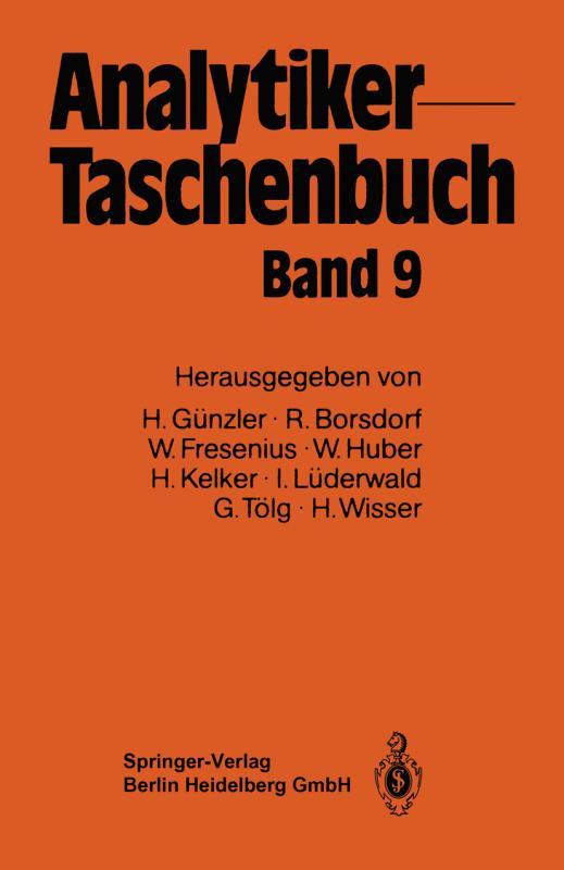 Cover-Bild Analytiker-Taschenbuch