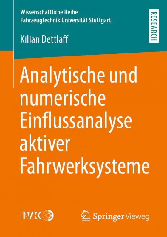 Cover-Bild Analytische und numerische Einflussanalyse aktiver Fahrwerksysteme