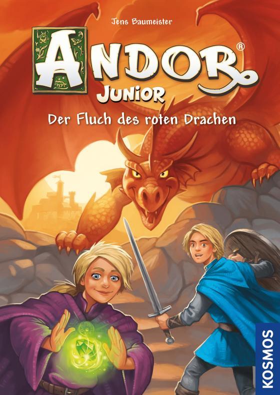 Cover-Bild Andor Junior, 1, Der Fluch des roten Drachen