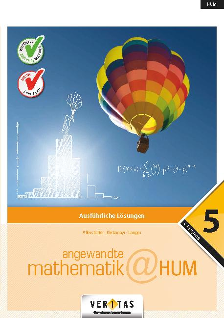 Cover-Bild Angewandte Mathematik@HUM 5. Ausführliche Lösungen