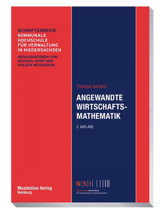 Cover-Bild Angewandte Wirtschaftsmathematik