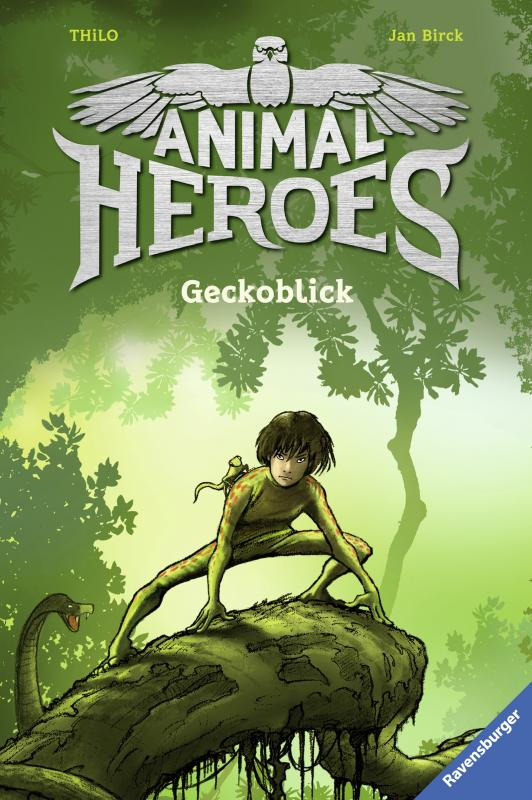 Cover-Bild Animal Heroes, Band 3: Geckoblick
