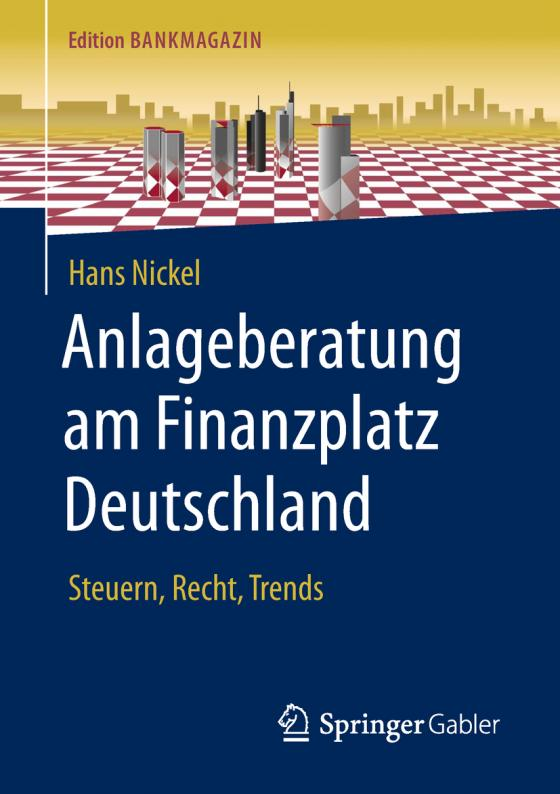 Cover-Bild Anlageberatung am Finanzplatz Deutschland