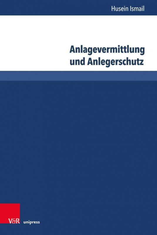 Cover-Bild Anlagevermittlung und Anlegerschutz