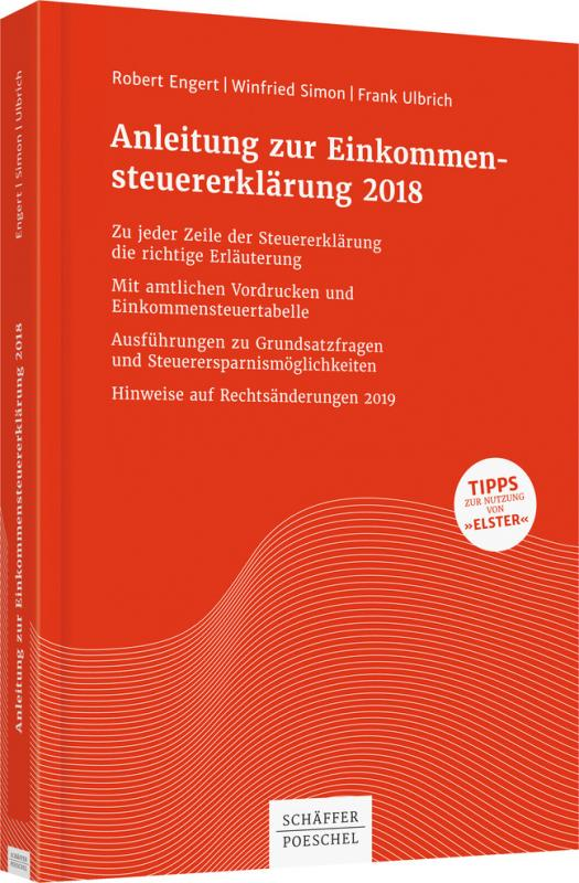 Cover-Bild Anleitung zur Einkommensteuererklärung 2018