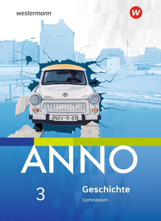 Cover-Bild ANNO / ANNO - Ausgabe 2017 für Gymnasien in Sachsen-Anhalt