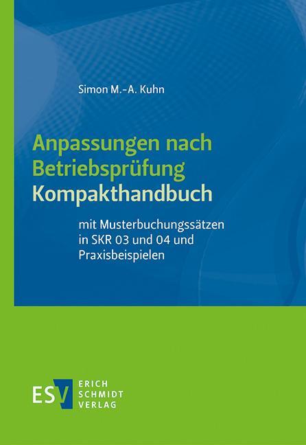 Cover-Bild Anpassungen nach Betriebsprüfung, Kompakthandbuch