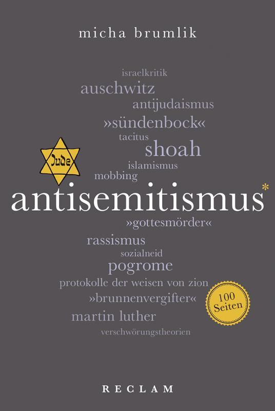 Cover-Bild Antisemitismus. 100 Seiten