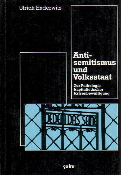 Cover-Bild Antisemitismus und Volksstaat