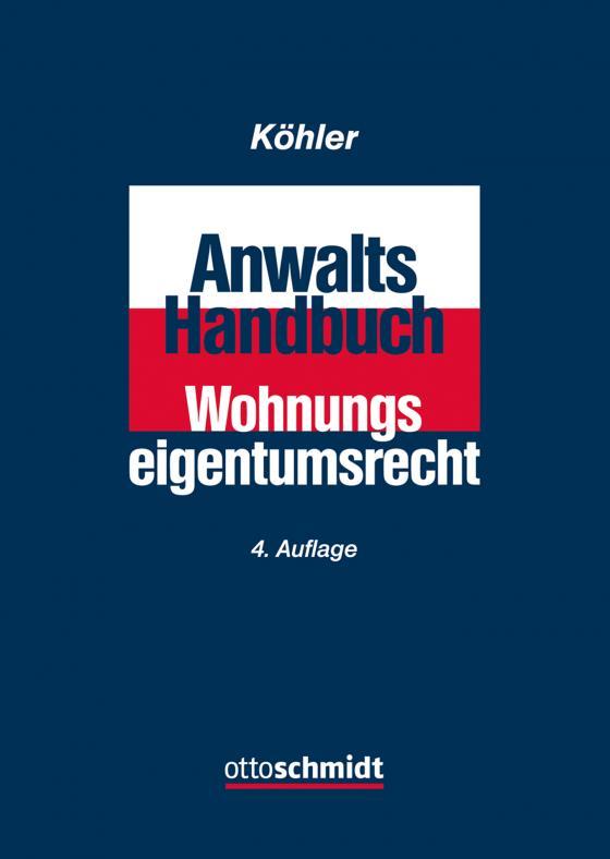 Cover-Bild Anwalts-Handbuch Wohnungseigentumsrecht