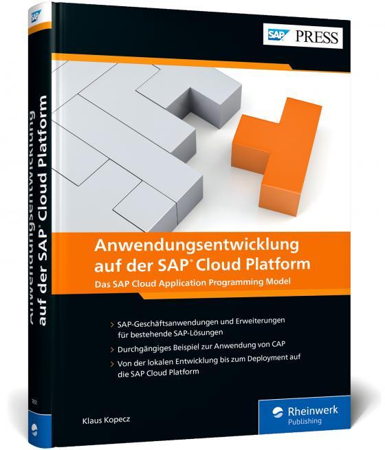 Cover-Bild Anwendungsentwicklung auf der SAP Cloud Platform