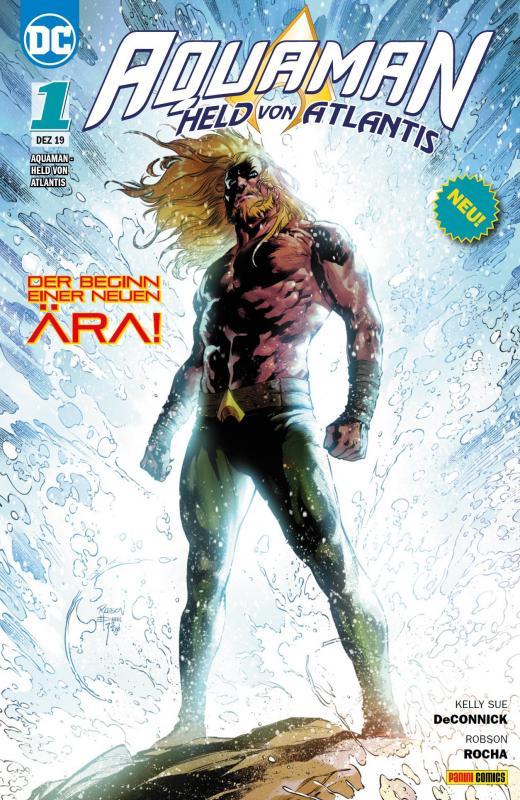 Cover-Bild Aquaman - Held von Atlantis
